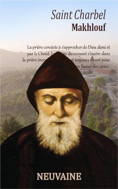 Neuvaine à Saint Charbel   Librairie de l'Emmanuel