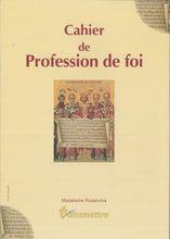 Préparation profession de foi