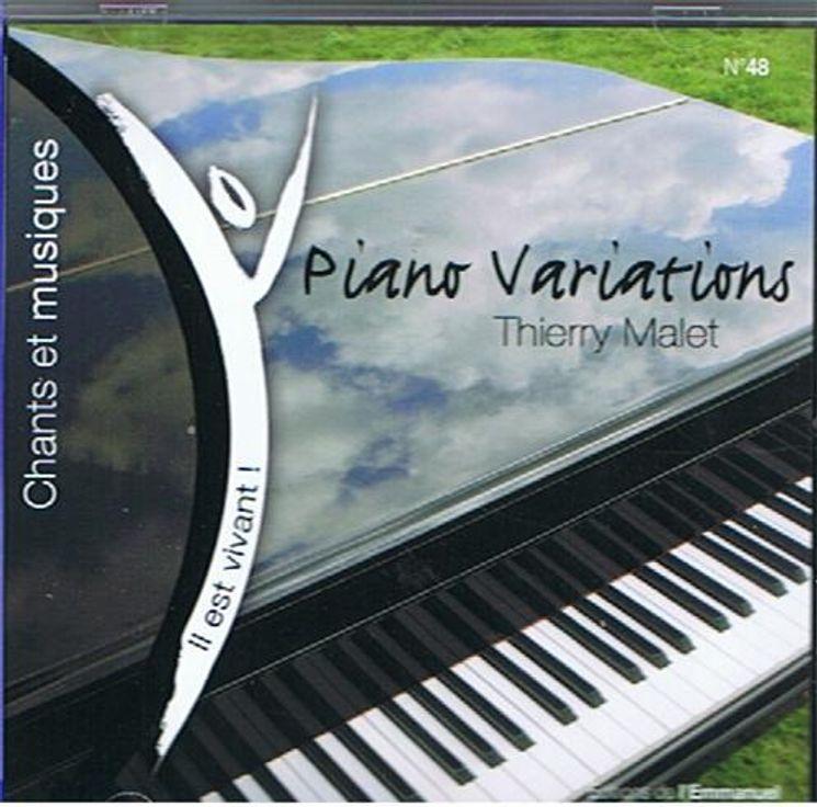 CD Il est vivant ! Piano variations de Thierry Malet - CD 48