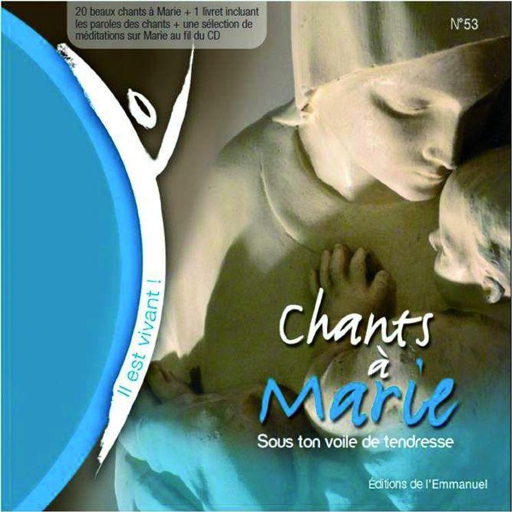 CD Il est vivant ! Chants à Marie - CD 53