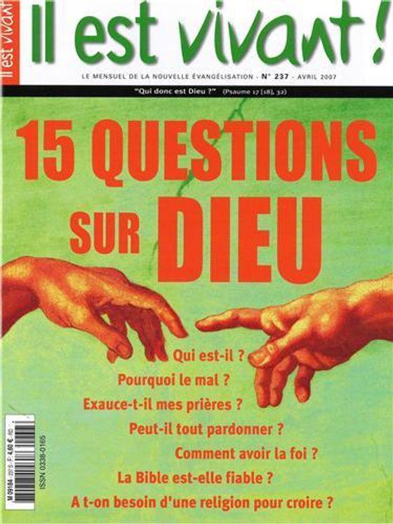 N°237 - 15 questions sur Dieu
