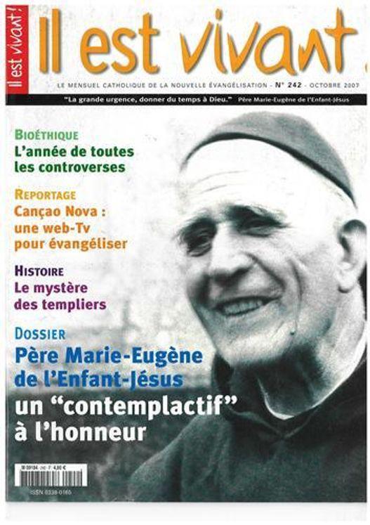 N°242  - Père Marie-Eugène de l´enfant Jésus un contemplatif à l´honneur